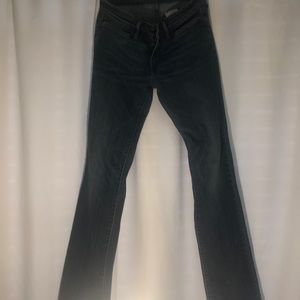 Woman's Levi size  27  bootcut skinny jeans